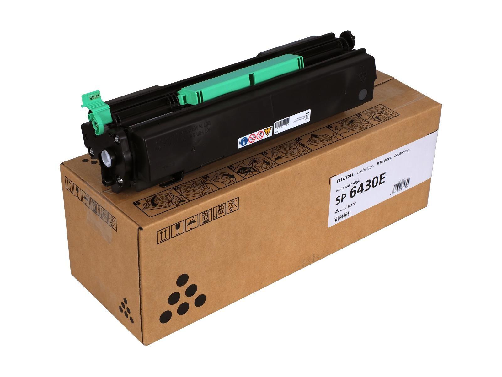Ricoh SP 6430DN/SP 6430E/TONSP 6430 Toner - festékkazetta 10K fekete (Black), eredeti