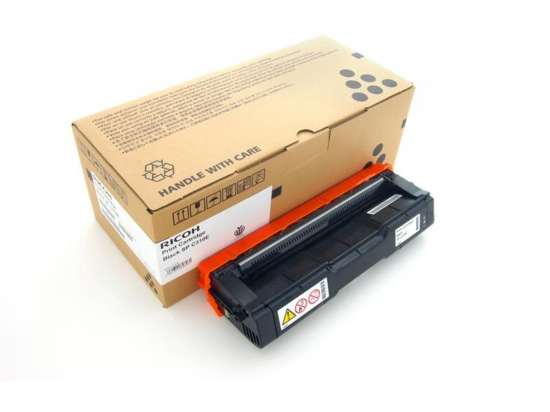Ricoh SP C220N/C221N/C222DN/C220S/C221SF/C222SF/220/AIO/BKAIOC220ECHN Toner - festékkazetta 2K fekete (Black), eredeti
