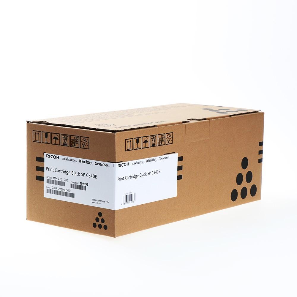 Ricoh SP C340DN/PCBLACKSPC340E Toner - festékkazetta 5K fekete (Black), eredeti