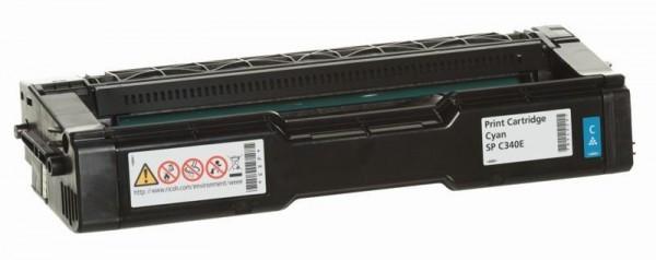 Ricoh SP C340DN/PCciánSPC340E Toner - festékkazetta 5K cián (kék), eredeti