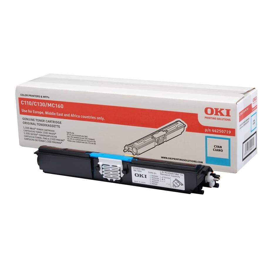 OKI C110/130 Toner Cyan 1,5K (Eredeti)
