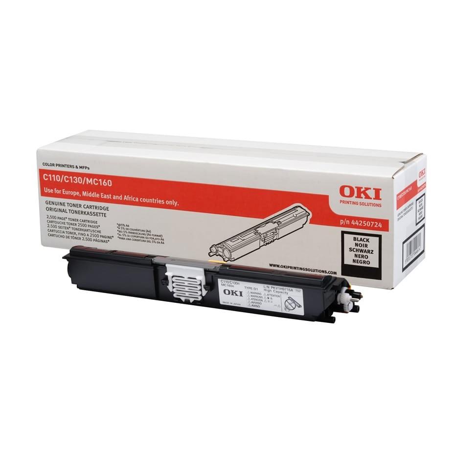OKI C110/130 Toner Black 2,5K (Eredeti)
