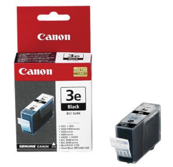 Canon BCI3E Tintapatron - Ink Cartridge 27ml fekete (Black), eredeti