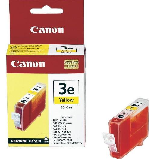 Canon BCI3E Tintapatron - Ink Cartridge 14ml sárga (Yellow), eredeti