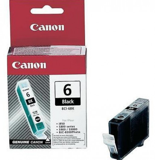 Canon BCI6 Tintapatron - Ink Cartridge 13ml fekete (Black), eredeti