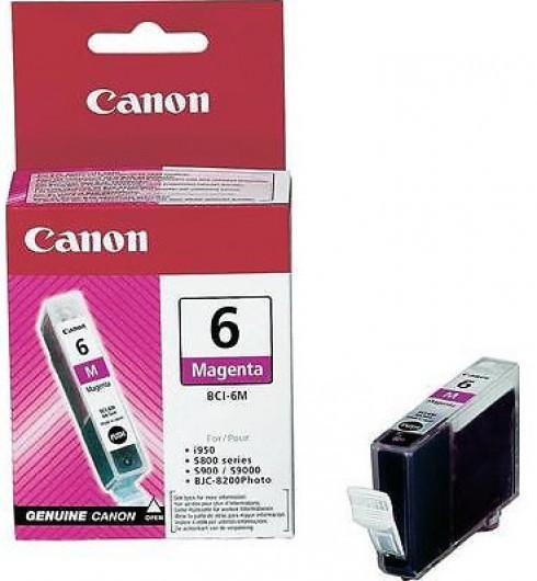 Canon BCI6 Tintapatron - Ink Cartridge 13ml magenta (bíbor), eredeti