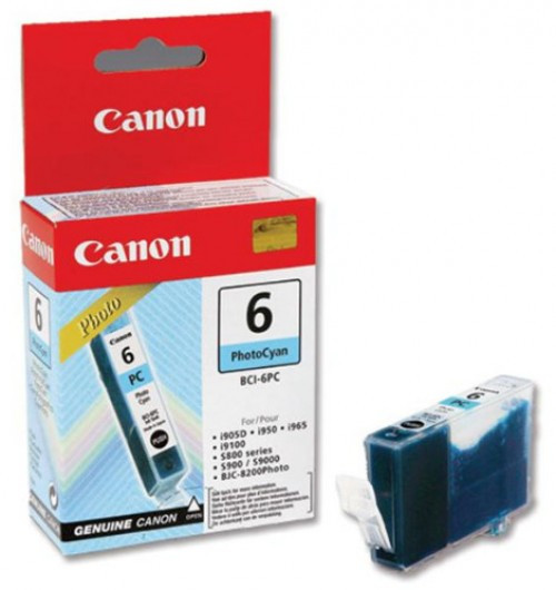 Canon BCI6 Tintapatron - Ink Cartridge 13ml cián (kék), eredeti