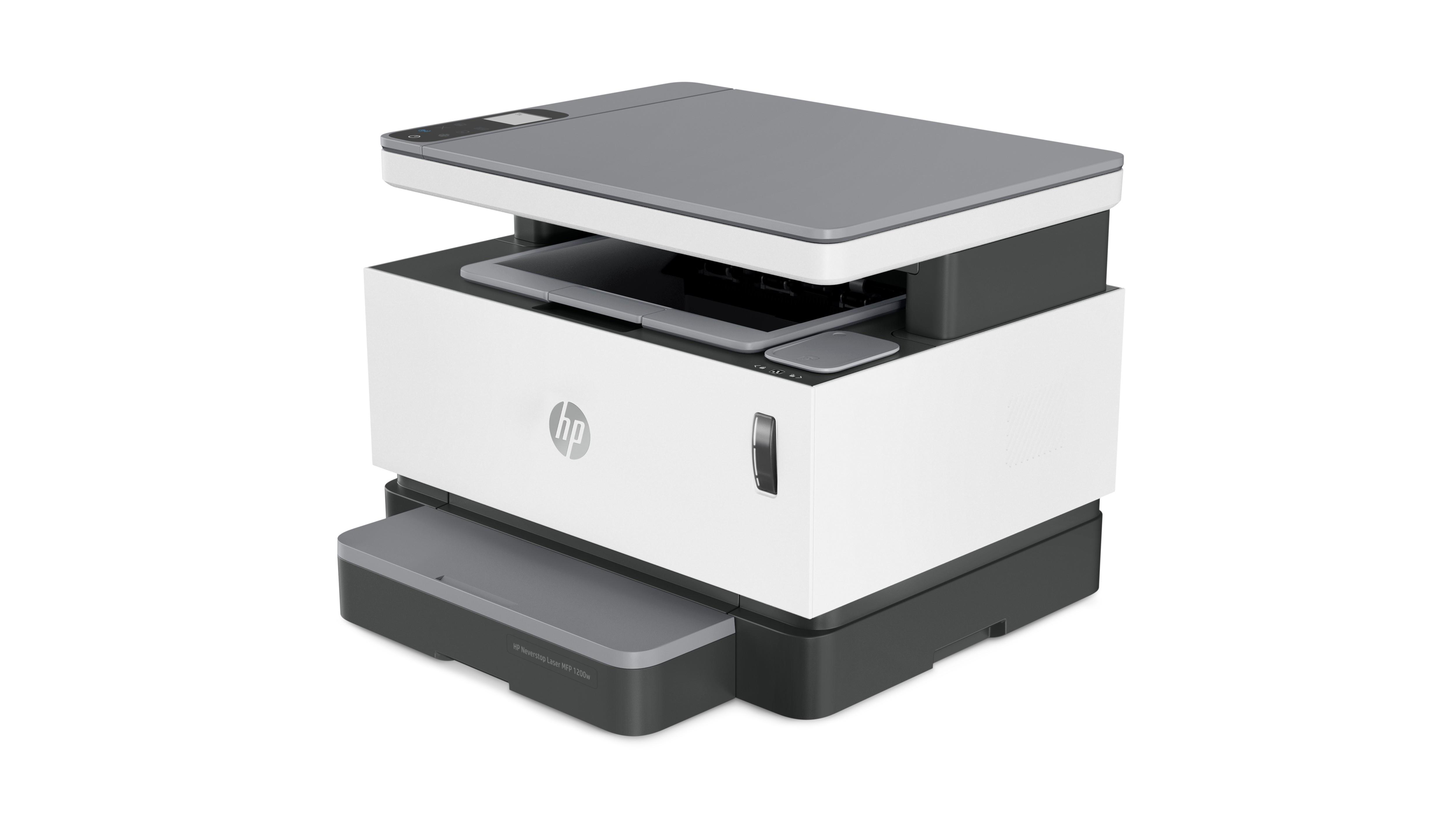 HP NEVERSTOP LASER MFP 1200W A4, mono, lézer multifunkciós nyomtató Wi-Fi-s