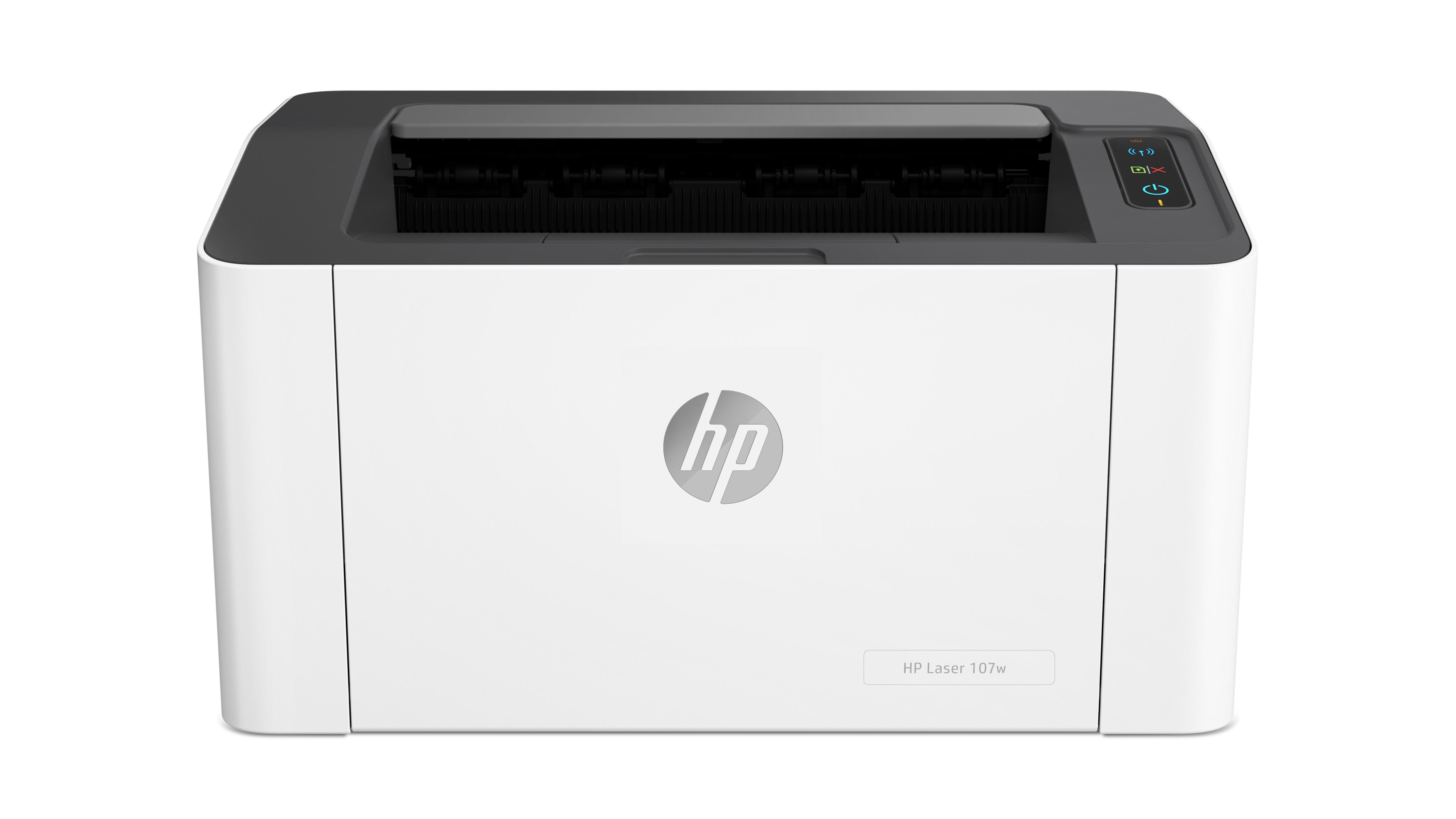 HP 107w A4, mono, lézernyomtató hálózatos, Wi-Fi-s
