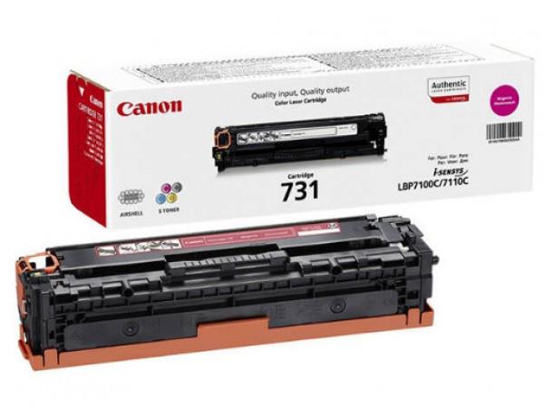 Canon CRG731 Toner - festékkazetta 1,5K magenta (bíbor), eredeti