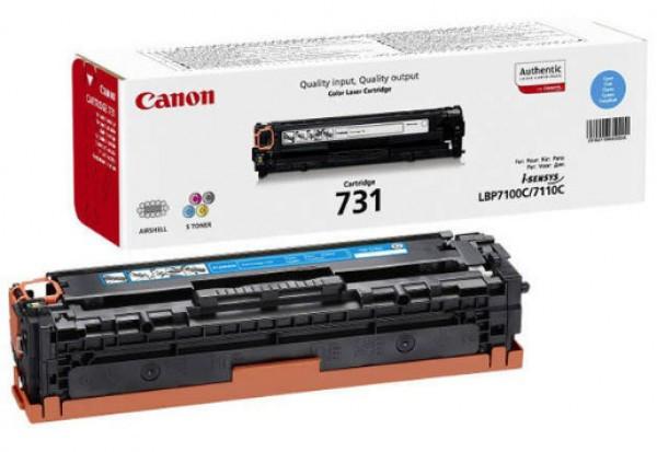 Canon CRG731 Toner - festékkazetta 1,5K cián (kék), eredeti