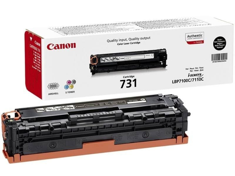 Canon CRG731 Toner - festékkazetta 1,4K fekete (Black), eredeti