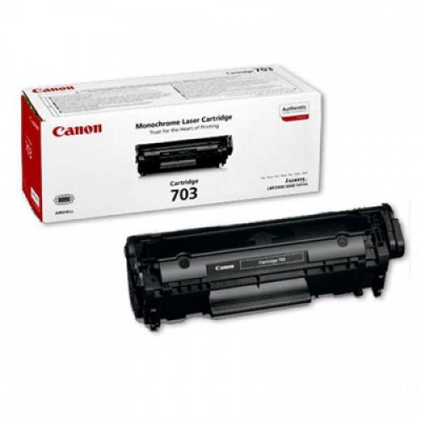 Canon CRG703/LBP2900 Toner - festékkazetta 2,5K fekete (Black), eredeti