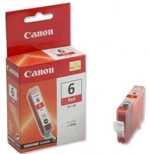 Canon BCI6 Tintapatron - Ink Cartridge 13ml piros (Red), eredeti