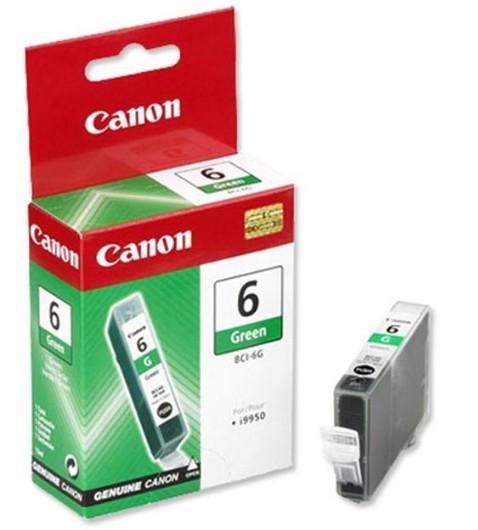 Canon BCI6 Tintapatron - Ink Cartridge 13ml zöld (Green), eredeti