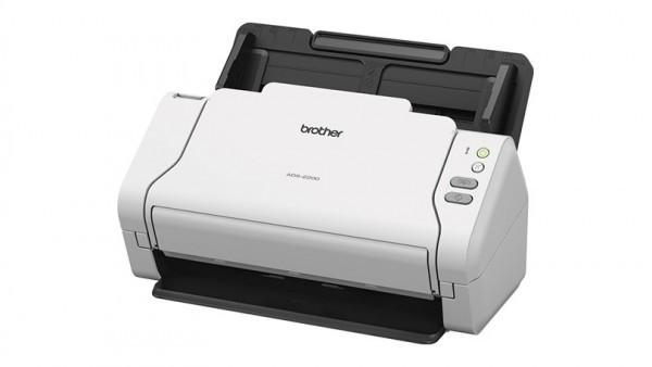 BROTHER Asztali szkenner ADS-2200, A4, 35 oldal/perc, USB 2.0, ADF, duplex, 1200x1200dpi, 512MB