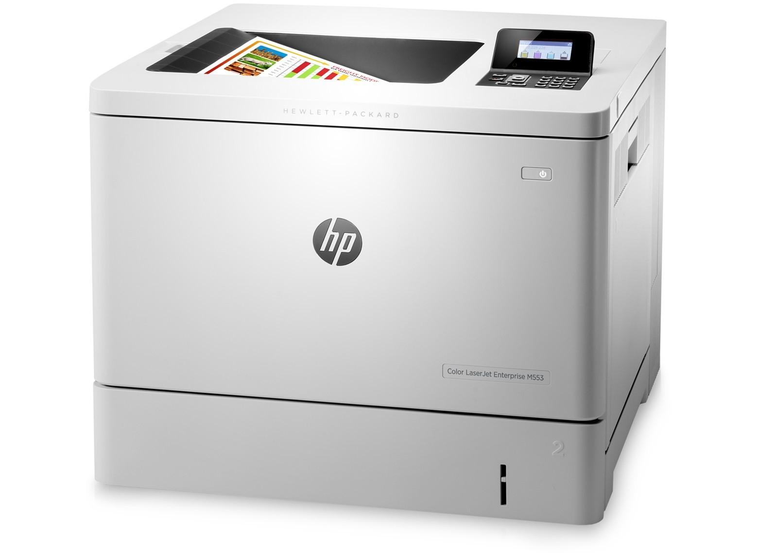 HP Color LaserJet Enterprise M553N A4, színes, lézernyomtató hálózatos