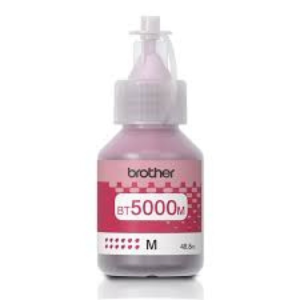 Brother BT5000-M Tinta - Ink bottle 5K magenta (bíbor), eredeti