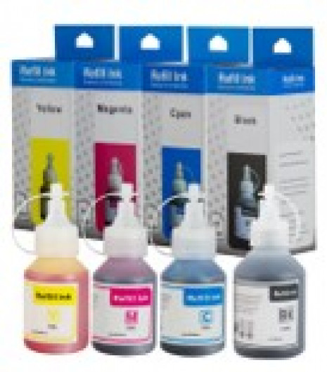 BROTHER BT5000 Yellow tinta  T300,T500 (For use)