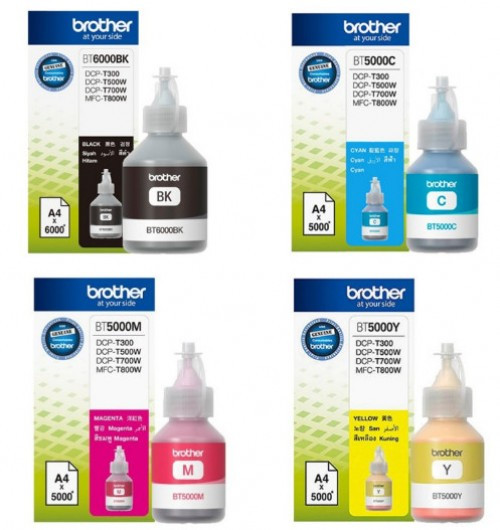 Brother BT6000-BK Tinta - Ink bottle 6K fekete (Black), eredeti