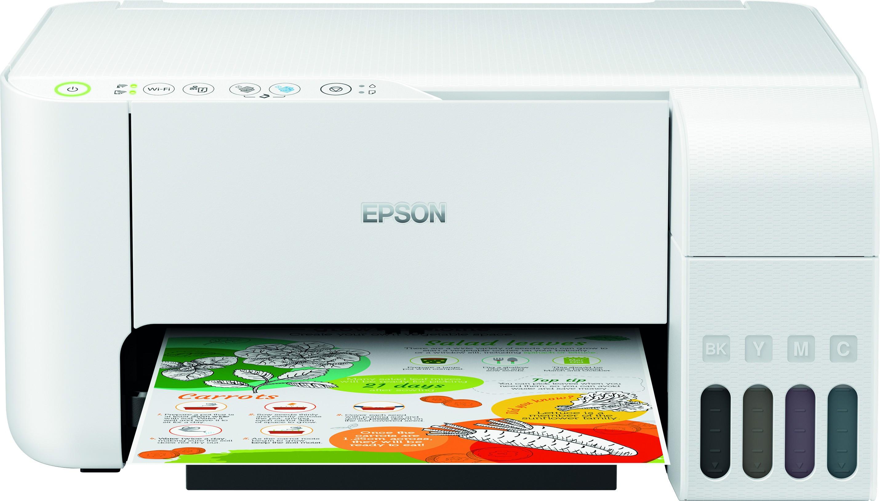 Epson L3156 A4, színes, tintasugaras multifunkciós  nyomtató Wi-Fi-s