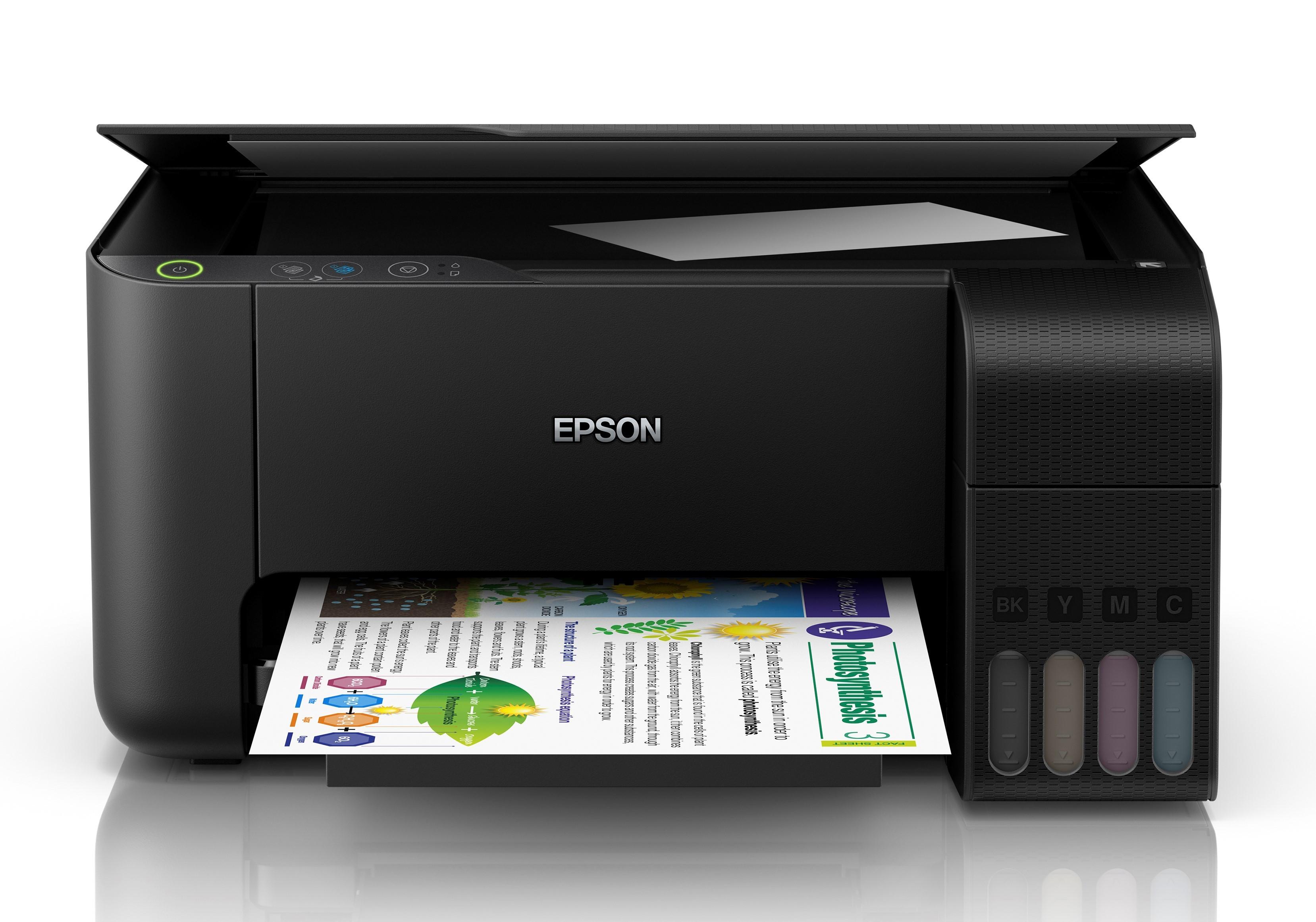 Epson L3110 A4, színes, tintasugaras multifunkciós  nyomtató