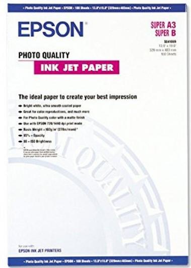 Epson A/3+ Fotópapír 100Lap 102g