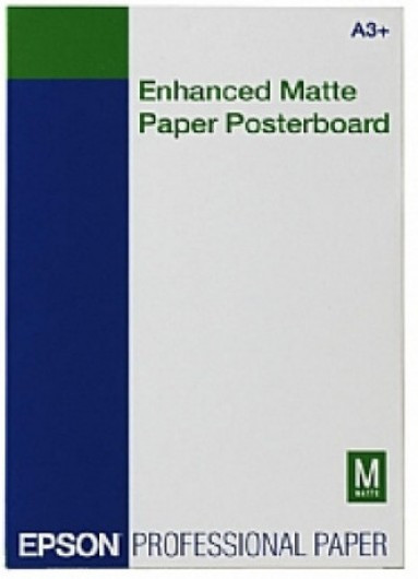 Epson A/3+ Matt Posterboard 20L 800g (Eredeti)