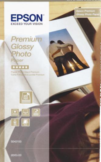 Epson 10x15 Prémium Fényes Fotópapír 40Lap 255g (Eredeti)