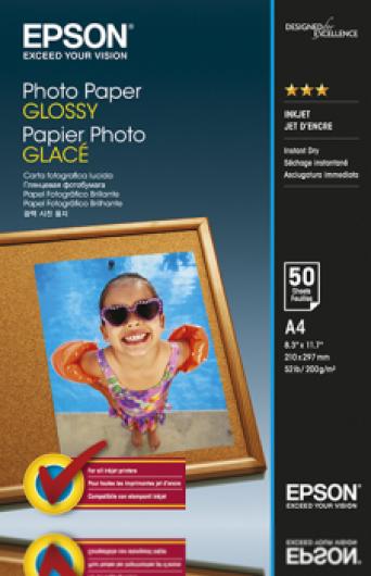 Epson A/4 Fényes Fotópapír 50Lap 200g (Eredeti)