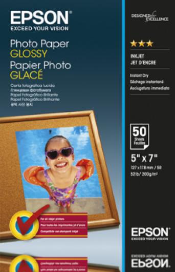 Epson 13x18 Fényes Fotópapír 50Lap 200g (Eredeti)