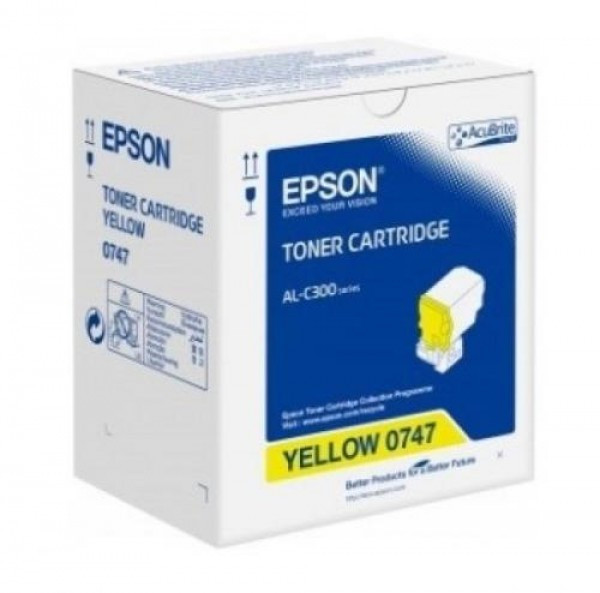 Epson C300 Toner - festékkazetta 8,8K, sárga (Yellow), eredeti