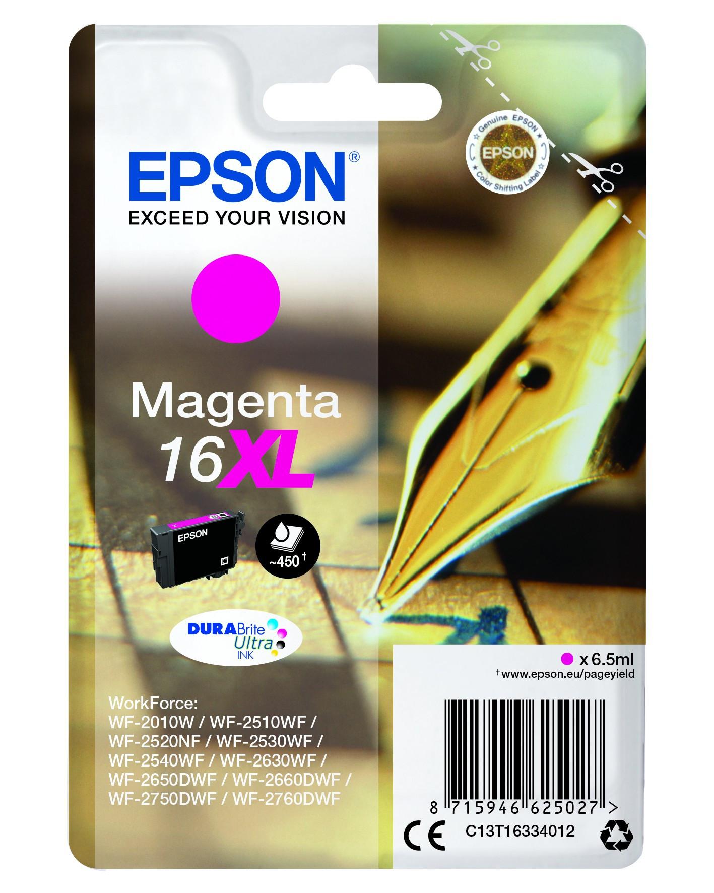 Epson  tintapatron - Ink Cartridge 0,45K, magenta (bíbor), eredeti