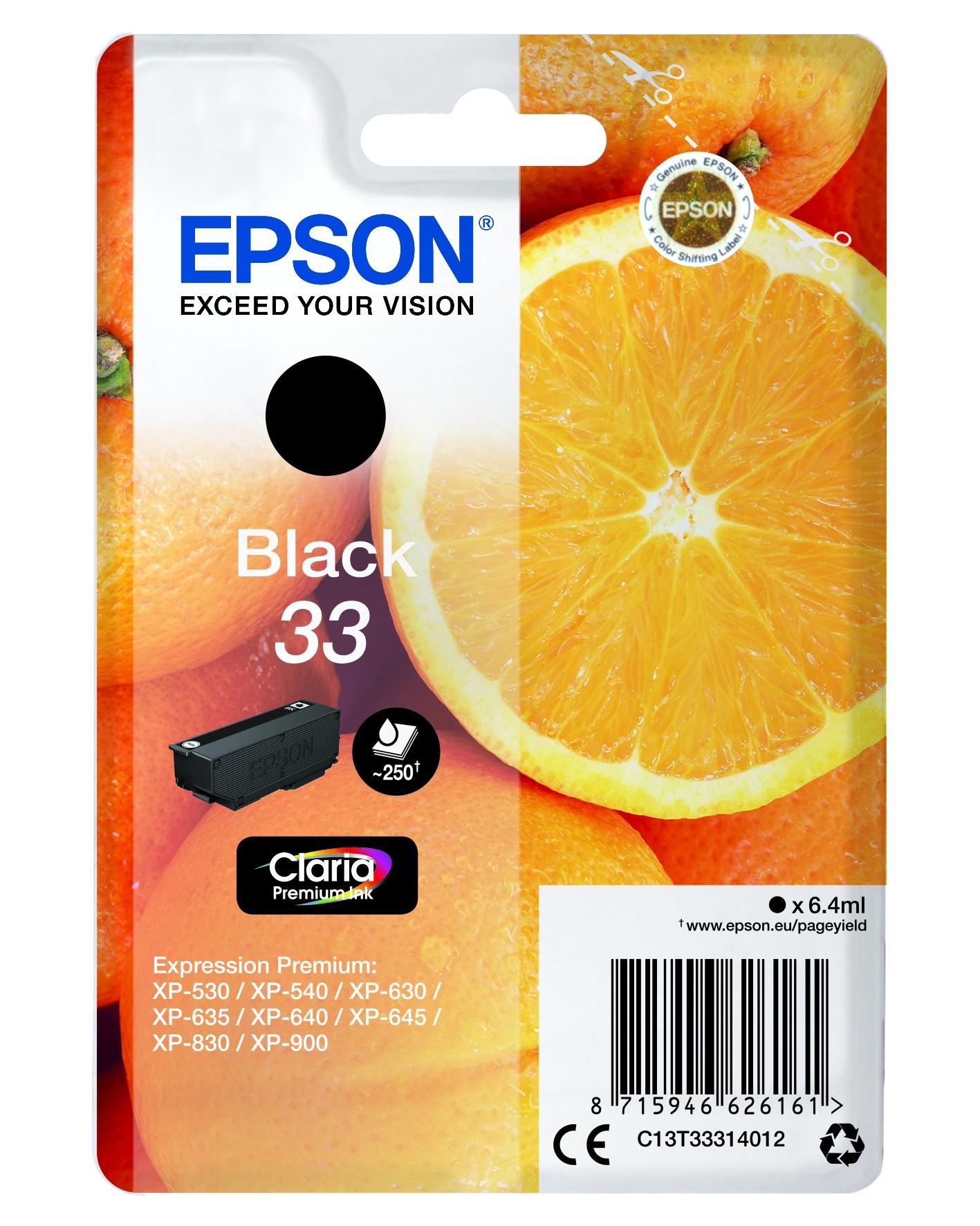 Epson  tintapatron - Ink Cartridge 0,25K, fekete (Black), eredeti