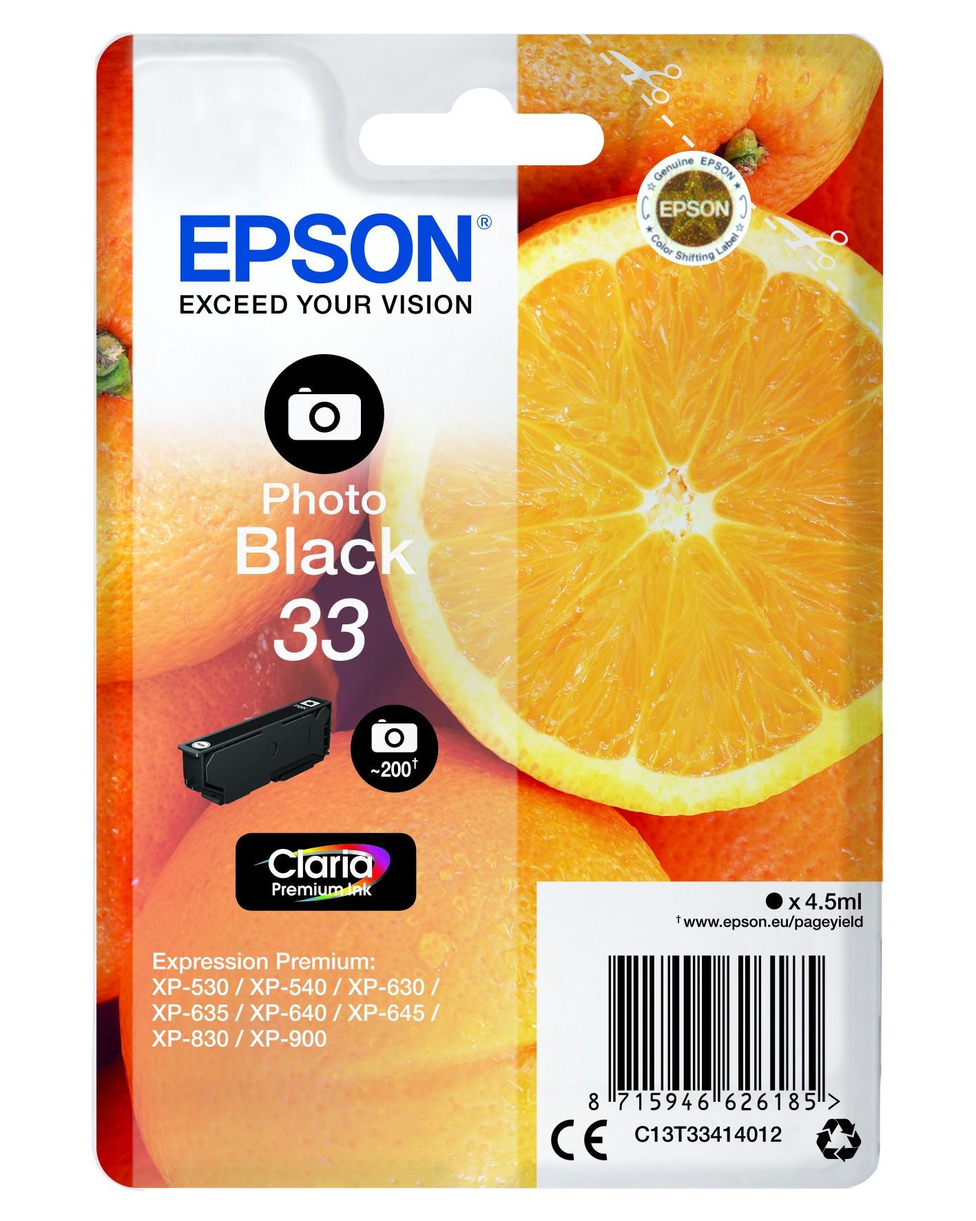 Epson  tintapatron - Ink Cartridge 0,3K, photo fekete, eredeti