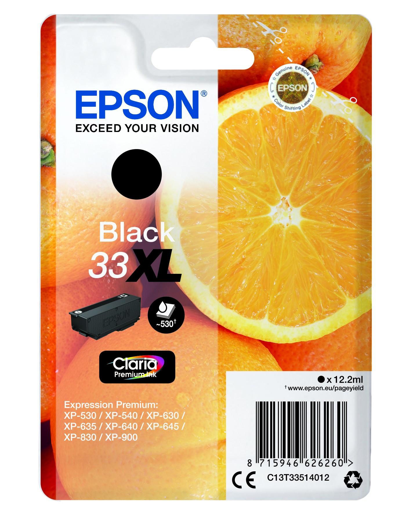Epson  tintapatron - Ink Cartridge 0,53K, fekete (Black), eredeti