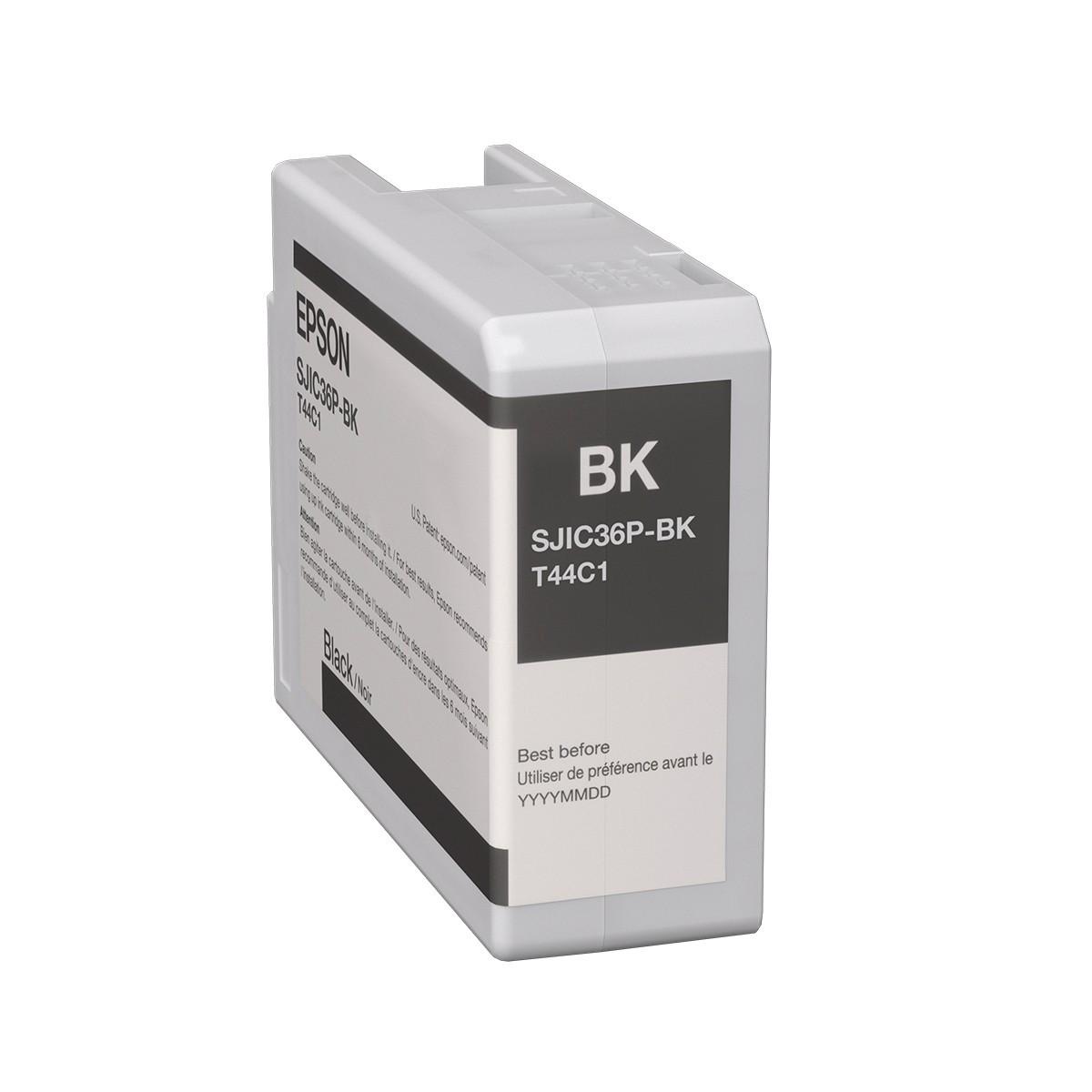 Epson C6500/C6000 tintapatron - Ink Cartridge 32,5 ml, fekete (Black), eredeti