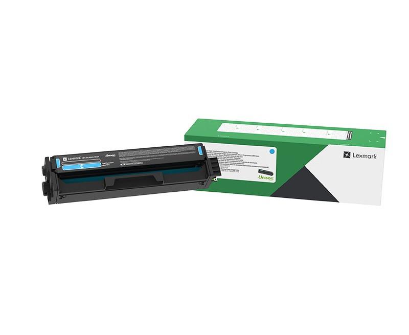 Lexmark C3220C0 Toner - festékkazetta 1,5K, cián (kék), eredeti