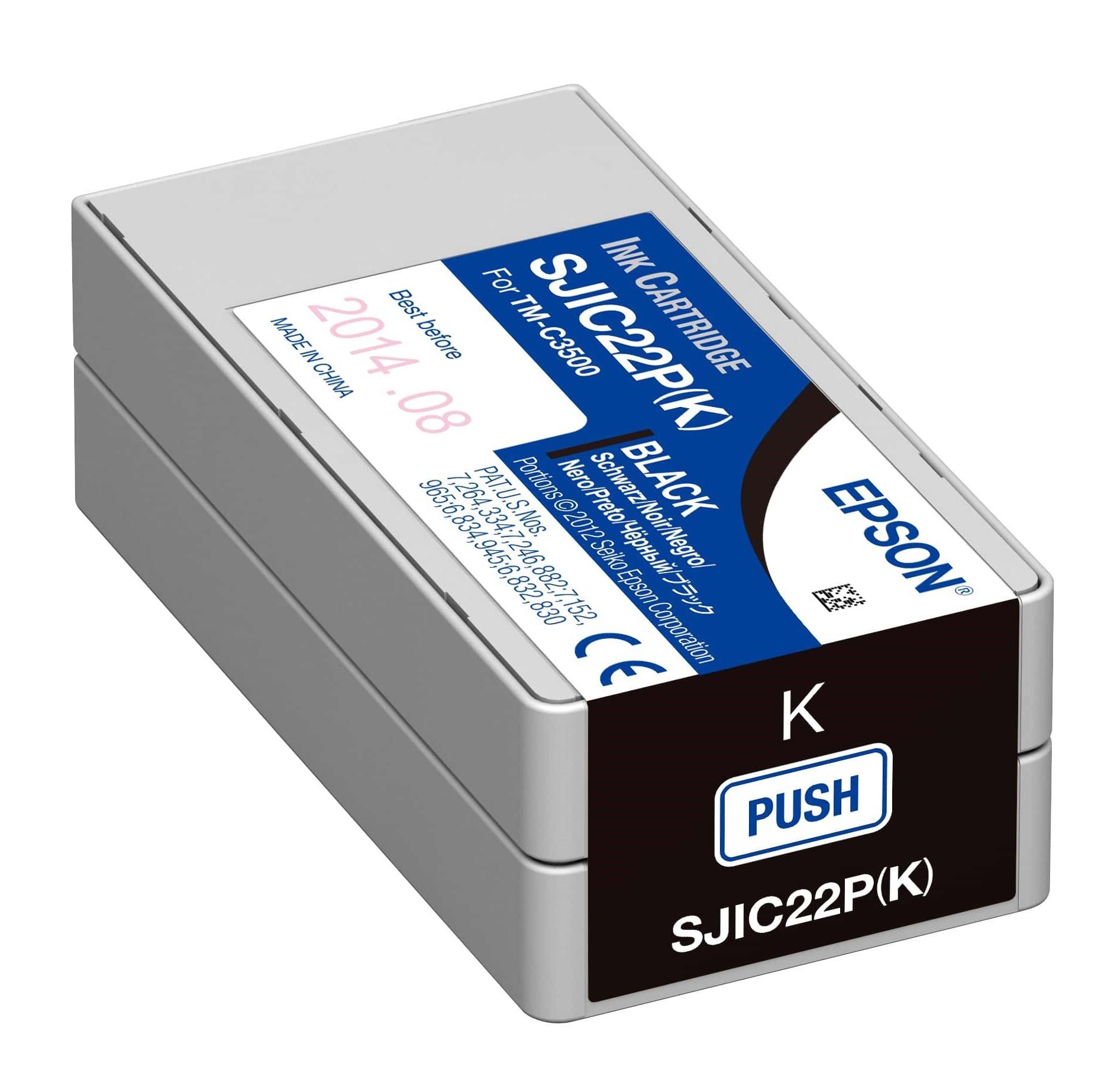 Epson C3500 Patron Black 32,6ml /orig/ *