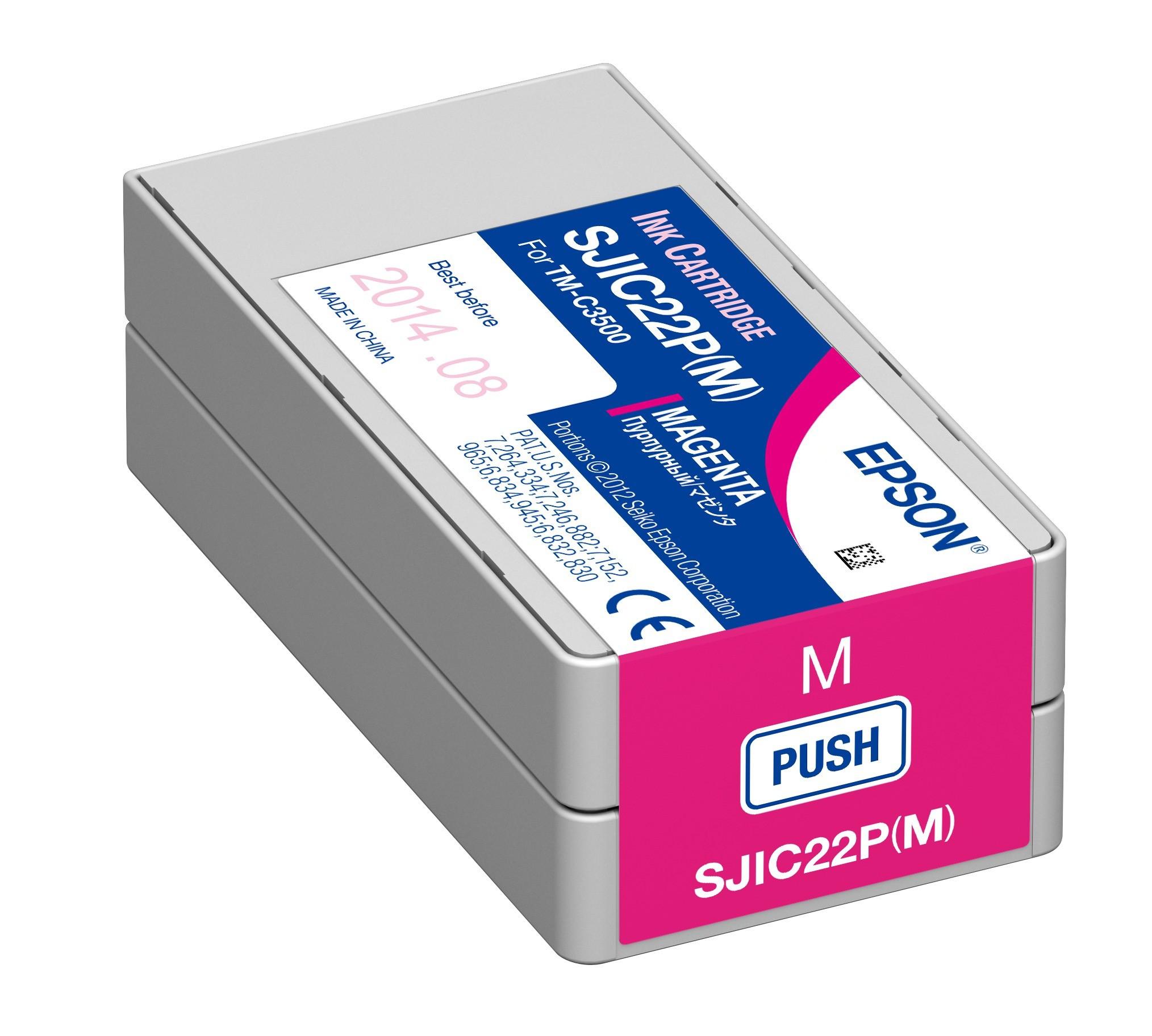 Epson C3500 Patron Magenta 32,5ml (Eredeti)