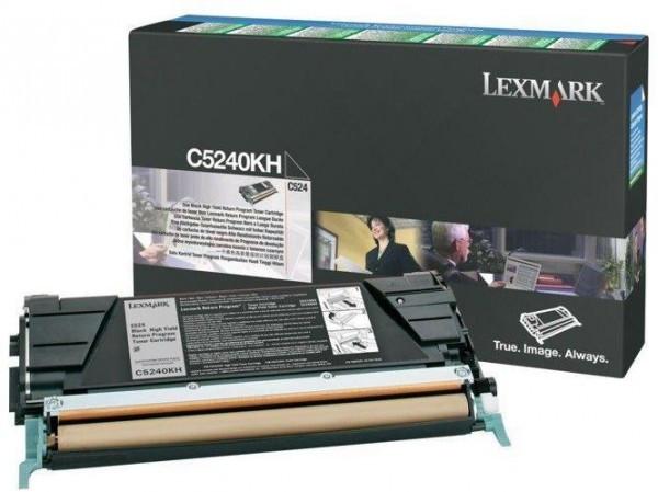 Lexmark C524/534 High Return Toner Black 8K (Eredeti) C5240KH