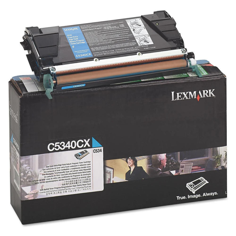 Lexmark C534 Return Toner Cyan 7K (Eredeti) C5340CX