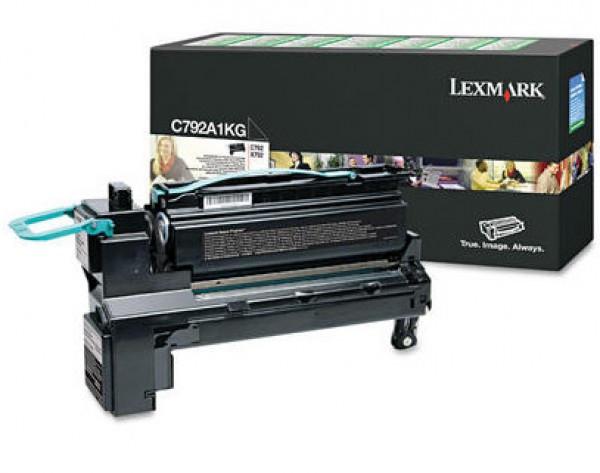 Lexmark C792/X792 Return Toner Black 6K (Eredeti) C792A1KG