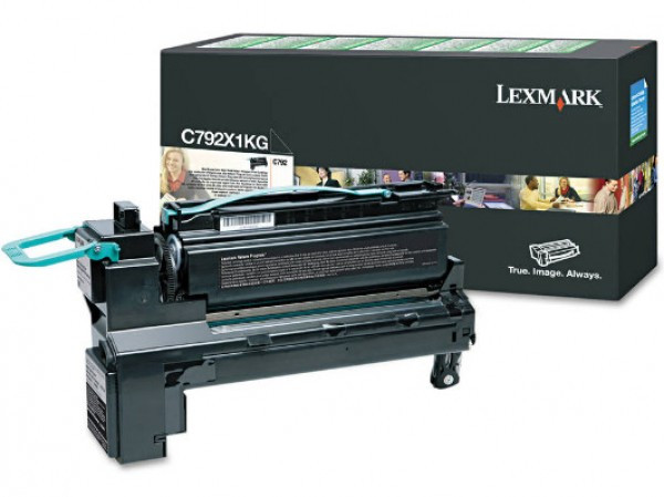 Lexmark C792 Extra High Return Toner Black 20k (Eredeti) C792X1KG