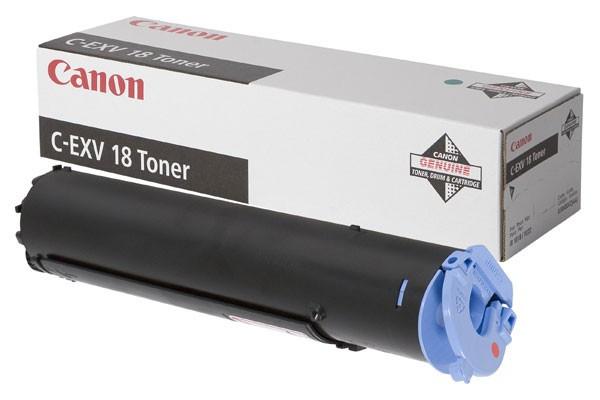 Canon IR1018/CEXV18 Toner - festékkazetta 8,4K fekete (Black), eredeti