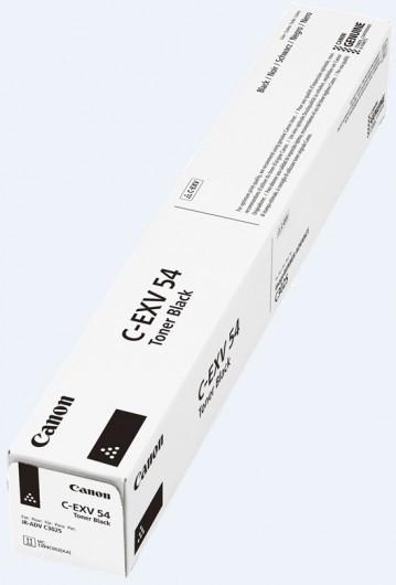 Canon C-EXV 54 Toner - festékkazetta 15,5K fekete (Black), eredeti