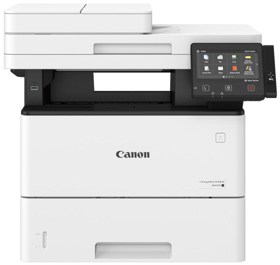 CANON IR1643IF DN A4, mono, lézer multifunkciós nyomtató hálózatos, Wi-Fi-s, duplex