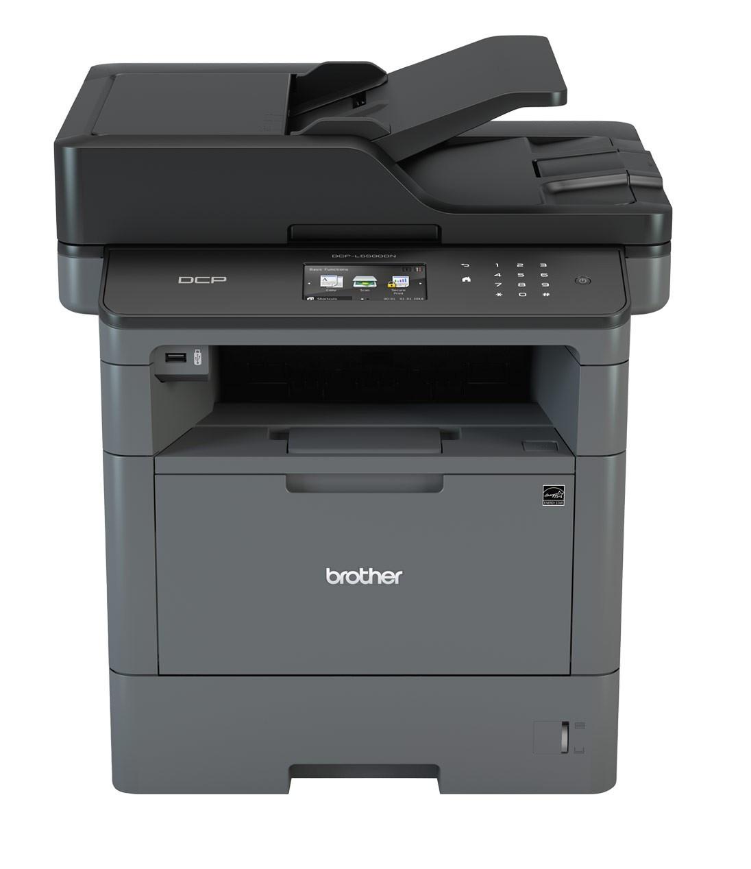 Brother DCP-L5500DN A4, mono, lézer multifunkciós nyomtató hálózatos, duplex