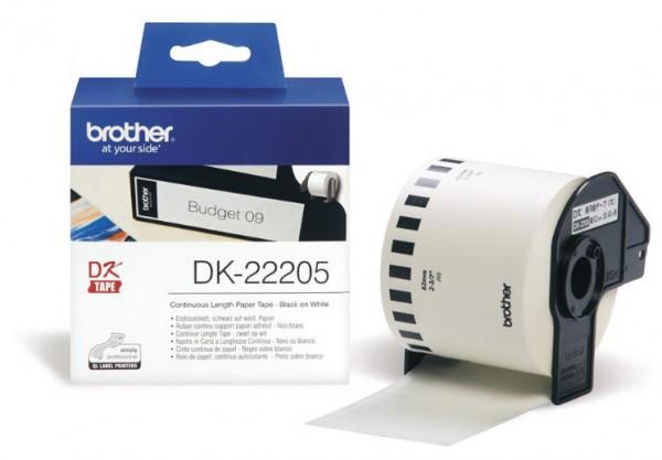 Brother DK22205 papírszalag (Eredeti)