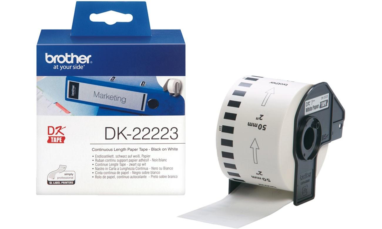 Brother DK22223 papírszalag (Eredeti)
